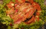 Filets de rougets  à la vapeur et gratinés au four