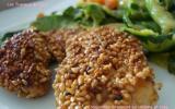 Croquettes de poulet au sésame et soja