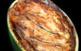 Viande hachée & aubergines gratinées à la Cancoillotte !