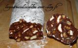 Saucisson au chocolat inratable