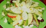 Salade cheese and apple