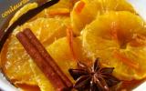 Soupe d'orange au caramel d'épices