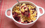 Crumble aux fruits rouges maison