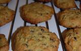 Cookies pistache/chocolat