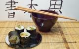 Sushi aux langoustines