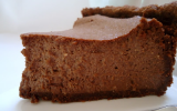 Cheesecake au chocolat et aux amandes