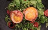 Œufs nids de bacon