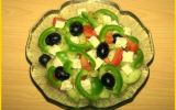 Salade grecque traditionnelle