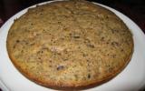 Gâteau noix, amandes et chocolat