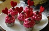 Cupcakes de la Saint-Valentin au thermomix