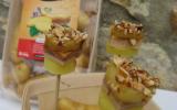Sucettes foie gras et Ratte du Touquet
