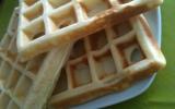 Pâte à gaufres moelleuse
