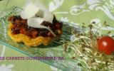 Tatin d'échalotes et carottes acidulées