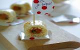 Sushi fumé pistache & abricots secs