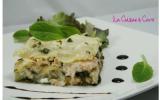 Lasagnes saumon - épinards
