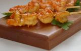 Brochettes de crevettes à l'indienne