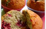 Muffins au fruits rouges