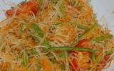 Salade de papaye verte inratable