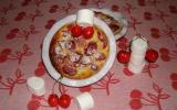 Clafoutis aux cerises et sirop de guimauves