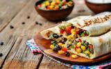 Burritos végétarien