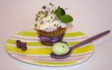 Cupcakes de Pâques pistache, myrtilles et violette