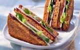 Le club sandwich pain d'épices FOL EPI et magret fumé