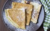 Crêpes légères sans gluten et sans lait de vache