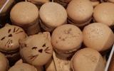 Macarons pain d'épice - foie gras