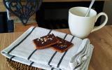 Petits beurre au chocolat et noisettes
