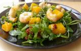 Salade de mangues et de langoustines