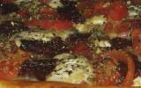Tarte tomates-chèvre.