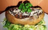 Pommes de terre farcies à la duxelles de champignons
