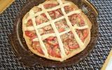 Tarte de tomates et parmesan