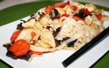 Nouilles sautées au poulet sauce soja