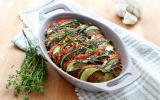 Tian de légumes pané