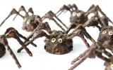 Araignées d'Halloween au chocolat