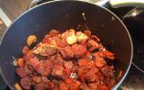 Filet mignon de porc au chorizo et aux carottes