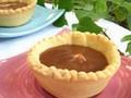Tartelettes aux amandes, chocolat & caramel crémeux de Carambars