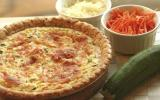 Quiche aux carottes et courgettes, au fromage à la crème Elle & Vire