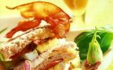 Club sandwich au poulet vapeur de Bière de Printemps