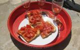 Crostinis tomates