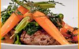 Boeuf de Charolles électrique version boeuf carottes