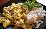 Poulet au basilic et lait de coco
