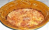 Gratin de potiron aux deux fromages