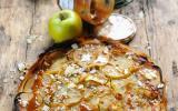Tarte fine à la pomme et à la Confiture de Lait Bonne Maman
