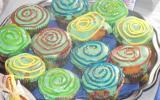 Cupcakes à la mûre trop rigolos