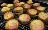 Cakes aux courgettes et à la menthe