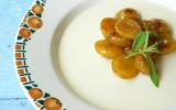 Blanc-manger aux amandes et mirabelles