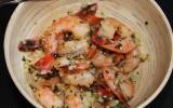 Crevettes ail de Lomagne et persil