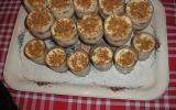 Tiramisu au chocolat blanc et pommes caramélisées